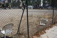 Cadires al parc de gossos